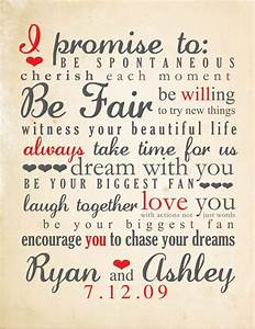 romantic wedding vows examples for her and for him With ideas for wedding vows