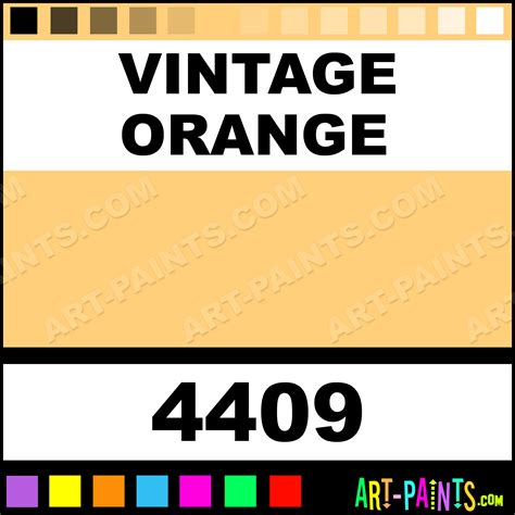vintage orange paint color vintage orange fabric acrylic paints 4409 vintage