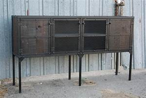 Made Com Sideboard : combine 9 industrial furniture rustic buffet hutch ~ Michelbontemps.com Haus und Dekorationen