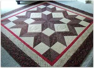 Carpenter Star Quilt Block Pattern