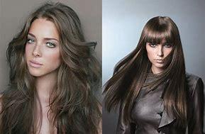 коричневый оттенок волос фото