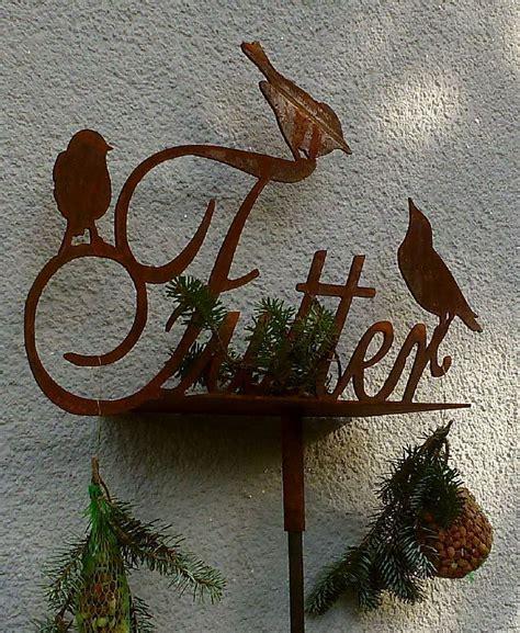 Futterstellen Für Vögel by Futterstelle F 252 R V 246 Gel Quot Vogelbar Quot Edelrost