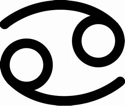 Zodiac Cancer Clipart Sign Symbol Clip Clipground