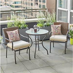 Hampton bay bistro sets patio dining furniture the home for Home depot outdoor furniture 2017