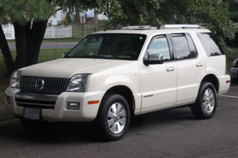 how do cars engines work 2007 mercury mountaineer parking system buy used 2007 mercury mountaineer premier sport utility in united states for us 11 000 00