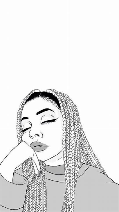 Outline Drawings Wallpapers Iphone Outlines Drawing Aesthetic