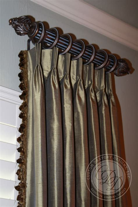 drapery designer custom drapery designs llc trim hardware details