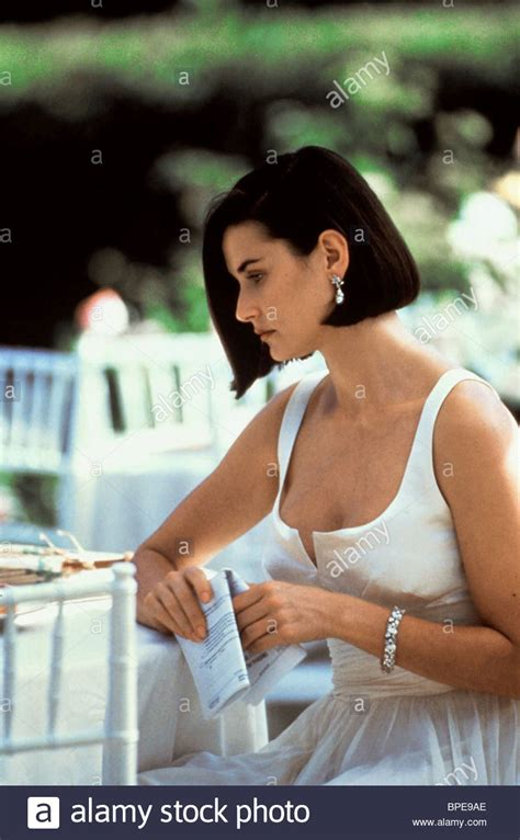 demi moore indecent proposal  stock photo alamy