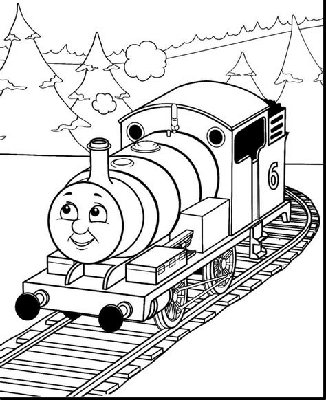 New Thomas And Friends Coloring Pages Collection