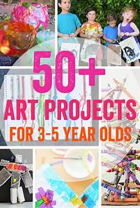 50 + Art Projects for 3-5 Year Olds - Meri Cherry