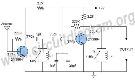 fm antenna booster  repository circuits  nextgr