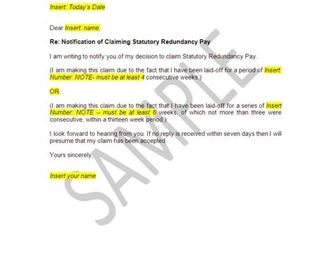 redundancy letter template uk printable receipt template