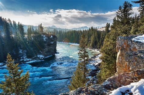 Góry, Lasy, Rzeka, Kanada