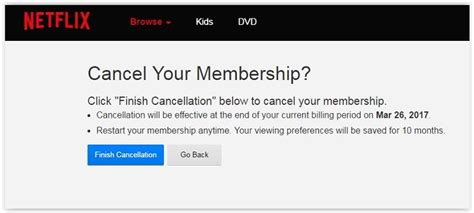 how to cancel netflix on phone how to delete your accounts from the pcmag