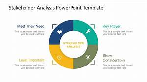 stakeholder analysis powerpoint template slidemodel With stakeholder map template powerpoint