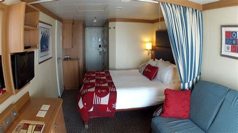 disney cruise line stateroom 9640 room tour the disney dream includes verandah view youtube