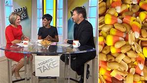 Candy corn and peanuts? Dylan Dreyer discovers new twist ...