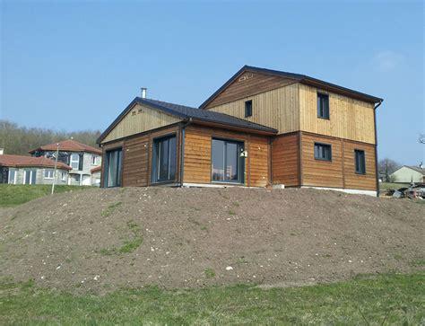 maison bois moderne cubique nos maisons ossatures bois maison moderne