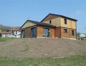 Maison bois moderne cubique nos maisons ossatures bois for Maisons modernes en bois