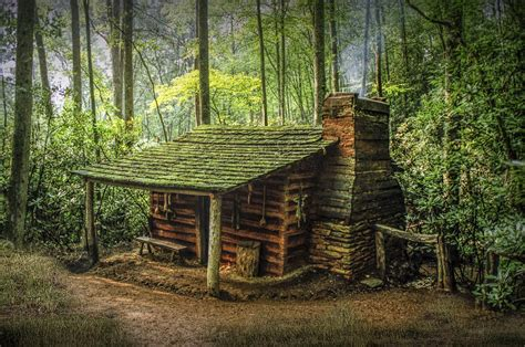 plans for cottages and small houses appalachian mountain cabin photograph by randall nyhof