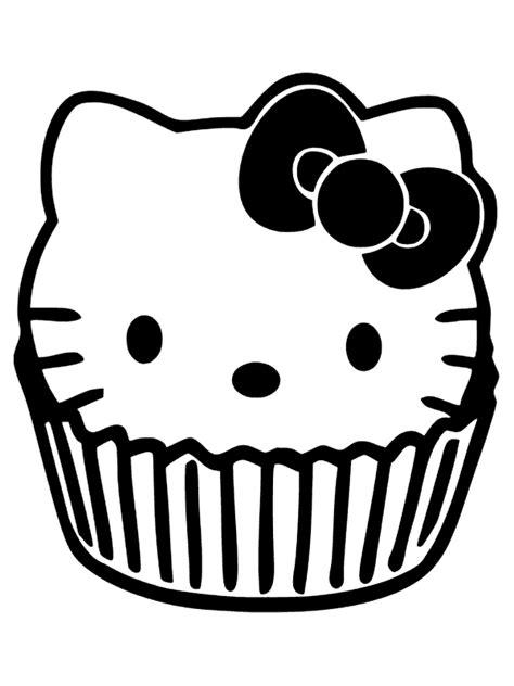 Hello Kleurplaat Cupcakes by Cupcake Hello Kleurplaat Hello Color Pages