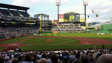 pnc park interactive baseball seating chart section