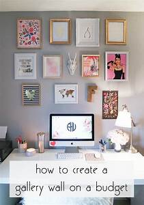 Franishcreating a gallery wall on a budget