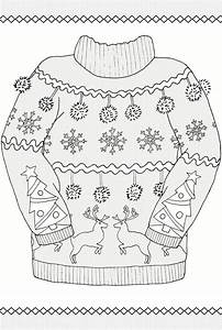 Creative Haven UGLY HOLIDAY SWEATERS Coloring Book By ...