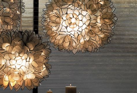 lotus flower chandelier white modern pendant