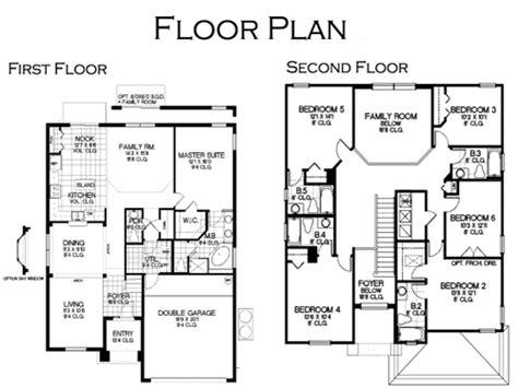 six bedroom floor plans floor plan vacation home at solana resort