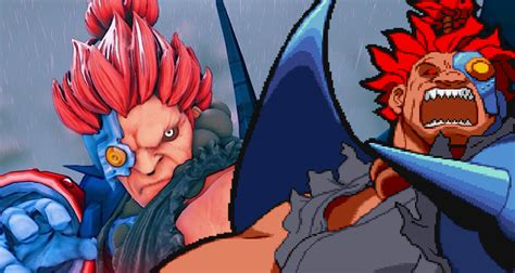 Modders Bring Cyber Akuma Into Street Fighter V For Pc