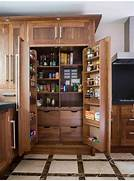 Kitchen Pantry Cabinet Design Idea With Glass Doors And White Wall Organize Your Kitchen Kitchen Cabinets Storage Shelves Apps Of Kitchen Pantry Options And Ideas For Efficient Storage Kitchen And Helps The Storage Space Blend In With The Kitchen Cabinetry