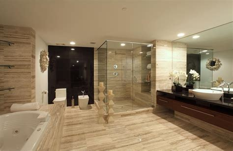 Modern Master Bathroom-the Interior Designs