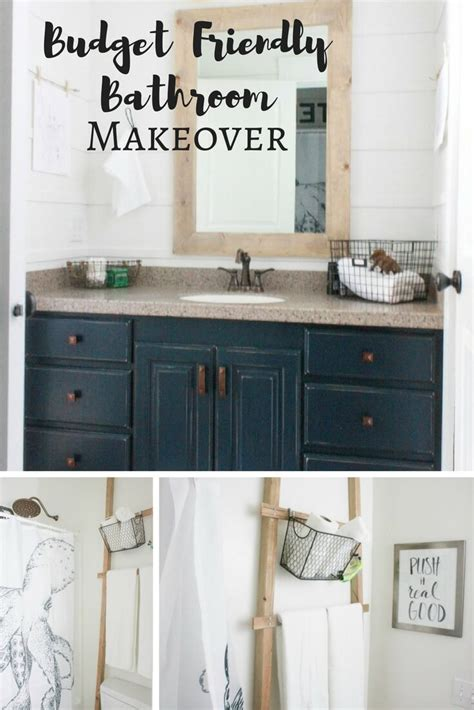 budget friendly bathroom makeover reveal twelve  main