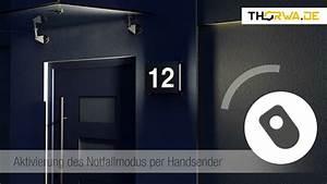 Hausnummer Beleuchtet Led : hausnummer der zukunft aus edelstahl led technik einfache montage youtube ~ Frokenaadalensverden.com Haus und Dekorationen