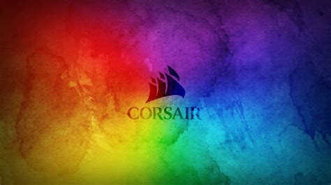 Corsair Rainbow Wallpaper 1440p By Donnesmarcus On Deviantart