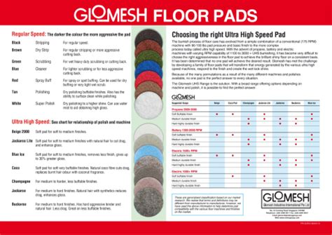 Floor Scrubber Pads Colors by Floor Buffing Pads Colors Carpet Vidalondon