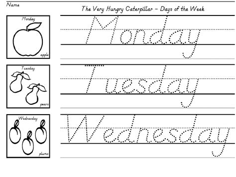 Writing Worksheets For Kids  Activity Shelter