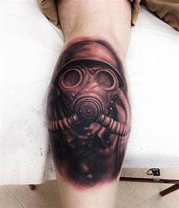 Gas Mask Tattoos Designs, Ideas and Meaning | Tattoos For You