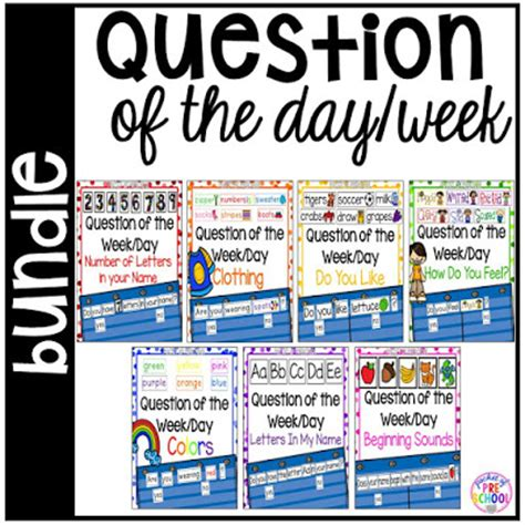 question of the day pocket of preschool 546 | Slide1