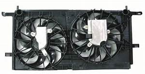 Go-parts Oe Replacement For 2002   Radiator Cooling Fan Assembly