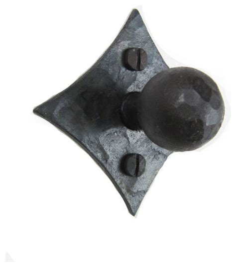 rustic iron cabinet pulls rustic back hammered iron cabinet knob hk4