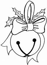 Coloring Pages Christmas Bells sketch template
