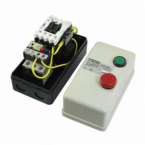 Ac 220v Coil 12 5a 18a 3 Phase Push Button Control Motor Magnetic Starter