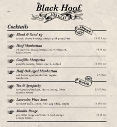 bar menus images bar menu menu menu design