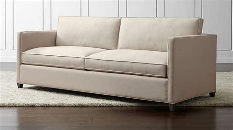 dryden queen sleeper sofa crate  barrel