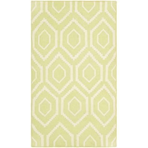 safavieh dhurries safavieh dhurries green ivory 4 ft x 6 ft area rug