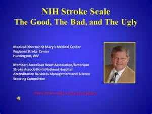 NIH Stroke Scale Assessment