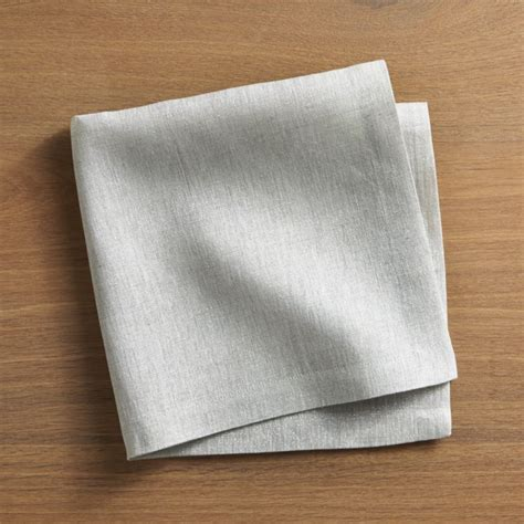 aurora linen cloth dinner napkin crate  barrel