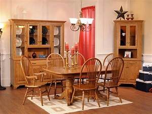 Westland Solid Wood Dining Set Countryside Amish Furniture